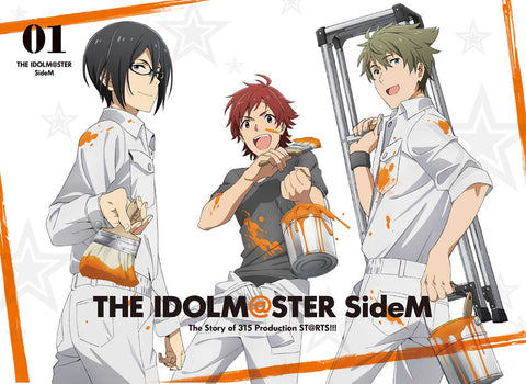 【★1】【★2】【★3】(DVD) THE IDOLM@STER (Idolmaster) SideM TV Series Vol. 1 [Full Production Limited Edition]