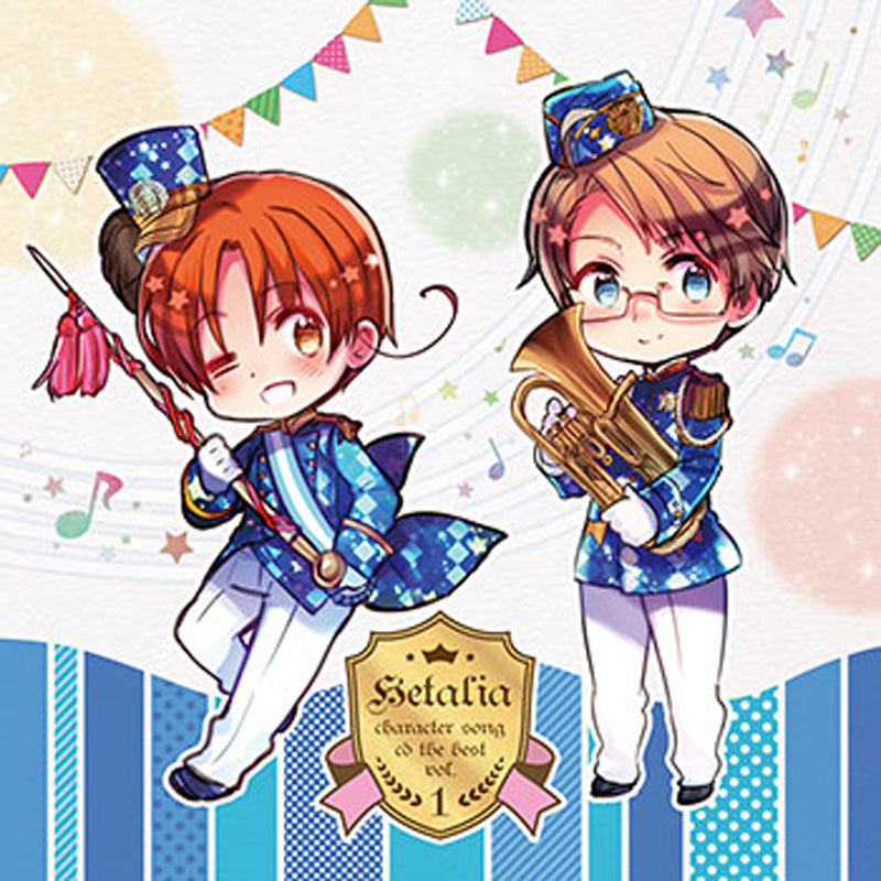 (Album) Hetalia Character Song CD The BEST Vol.1 [Regular Edition]