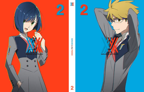 [★10] [★11] [★13] [★14](Blu-ray) Darling in the Franxx TV Series Vol. 2 [Production Run Limited Edition]
