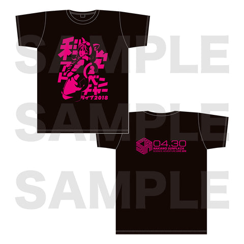 (Goods) Kagaku Adventure Live 2018 T-shirt XL Size