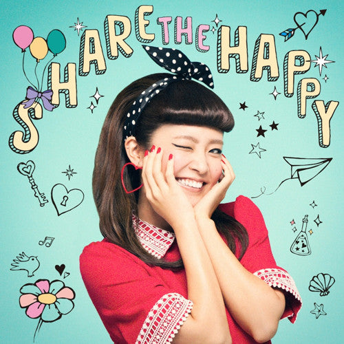 (Album) Share The Happy by Shion Miyawaki [CD+DVD]