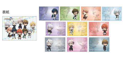 (Goods) IDOLiSH7 Mini Character Memo Pad WiSH VOYAGE & Heavenly Visitor
