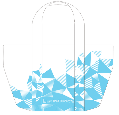 (Goods) IDOLiSH7 1st LIVE Road To Infinity Tote Bag