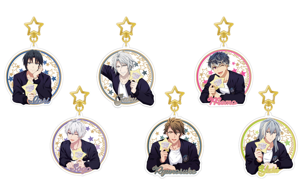 [1BOX=6](Goods) IDOLiSH7 Fan Festival vol.4 - Welcome! AI-na-night! - Acrylic Keychains