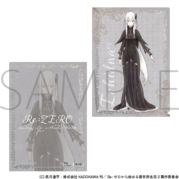 (Goods - Clear File) Re:Zero - Starting Life in Another World Clear File - Echidna