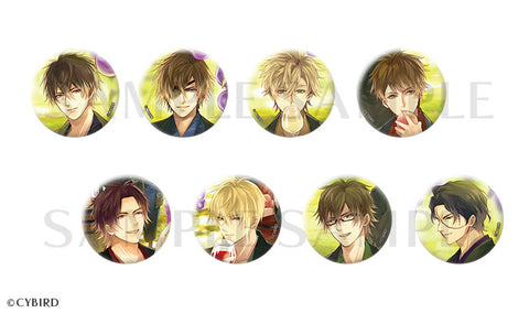 [※Blind Box] (Goods) Ikemen Sengoku: Love That Leaps Through Time Trading Button Badge - Locations No. 3
