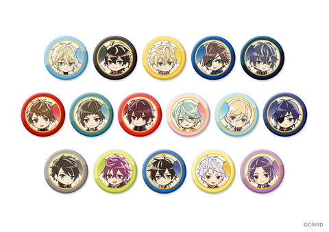 [※Blind Box](Goods) Ikemen Series Chibi Trading Button Badge - Top Ikemen Boyfriend 2017 Finalist Commemoration Ver.