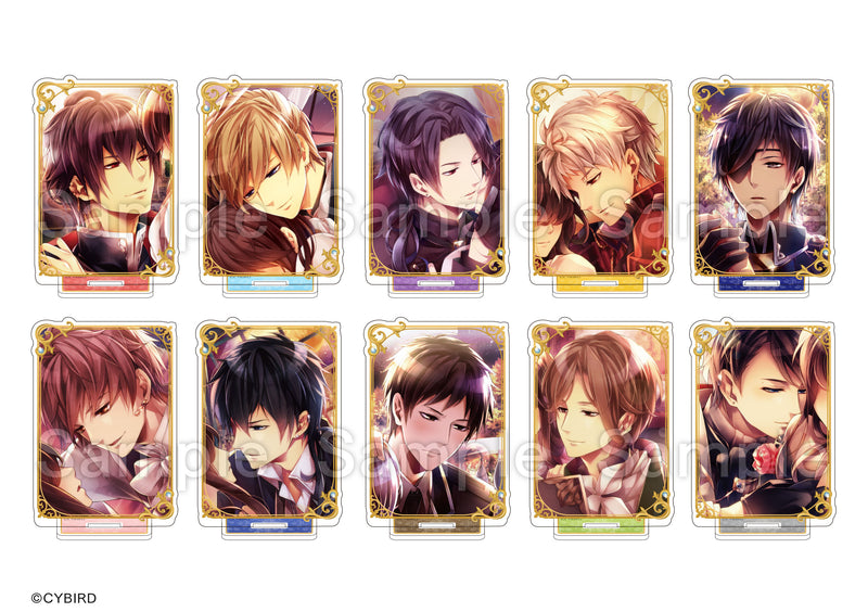 [※Blind Box] (Goods) Midnight Cinderella: Ikemen Royal Romances Trading Acrylic Stand - Still Animate International