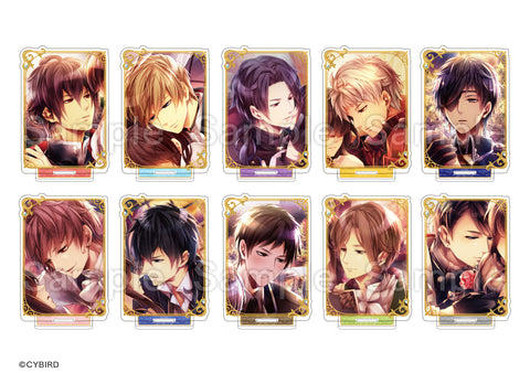 [※Blind Box] (Goods) Midnight Cinderella: Ikemen Royal Romances Trading Acrylic Stand - Still