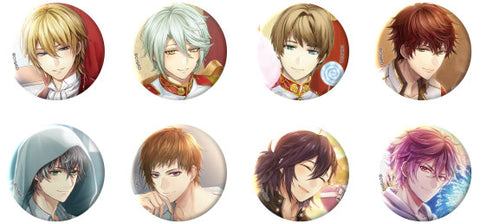 [※Blind Box] (Goods) Ikemen Revolution: Love & Magic in Wonderland Trading Button Badge - Card