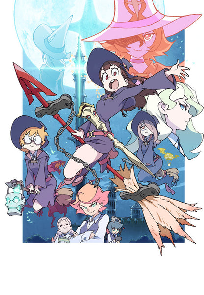 (Blu-ray) Little Witch Academia Vol.2  [First-run Limited Edition]