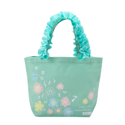 (Goods) IDOLiSH7 Fan Thanksgiving: Kimi to Motto x2 Ai wo Kataranaito!Ruffle Handle Lunch Tote