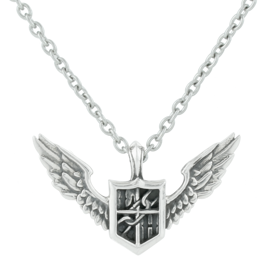 (Goods) The Linked Horizon Corps Silver Necklace