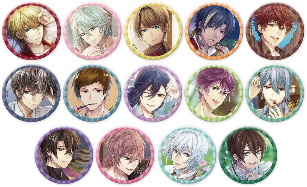 [※Blind Box] (Goods) Ikemen Revolution: Love & Magic in Wonderland Trading Button Badge - Stills Vol. 2