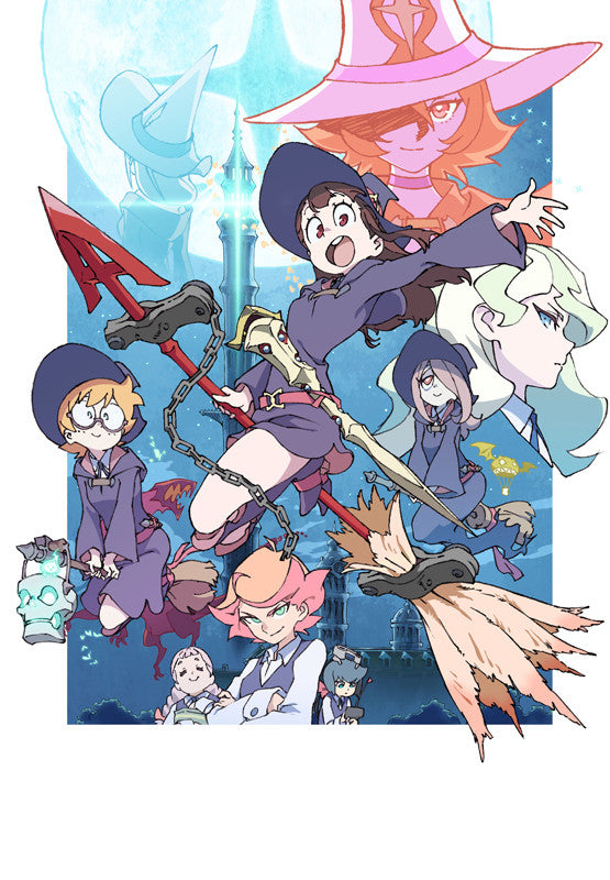(Blu-ray) Little Witch Academia Vol.3 [First-run Limited Edition]