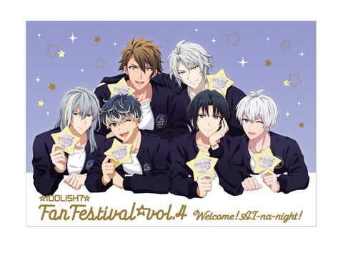 (Goods) IDOLiSH7 Fan Festival vol.4 - Welcome! AI-na-night! - Leaflet