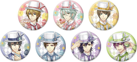 [※Blind Box] (Goods) Ikemen Revolution: Love & Magic in Wonderland Trading Button Badge - Rabbits