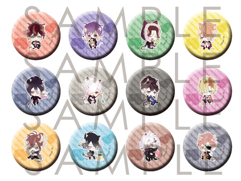 [※Blind Box](Goods) DIABOLIK LOVERS: BUTTON BADGE 2014 vol.2