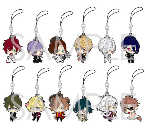 [※Blind Box](Goods) DIABOLIK LOVERS BLOODY BOUQUET: TRADING RUBBER STRAP 201