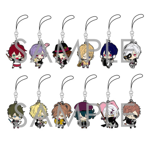 [※Blind Box](Goods) DIABOLIK LOVERS TRADING RUBBER STRAP AGF 2014