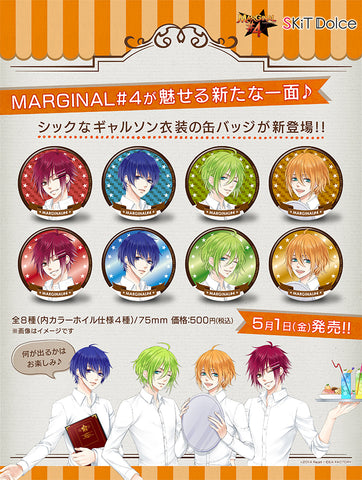 [※Blind Box](Goods) MARGINAL#4: BIG BUTTON BADGE 2015 Vol.1