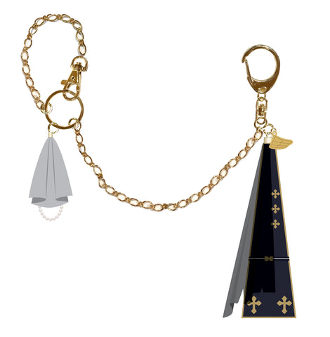(Goods) Ensemble Stars! Yumenosaki Private Academy Store Halloween Party Costume Design Bag Charm Knights
