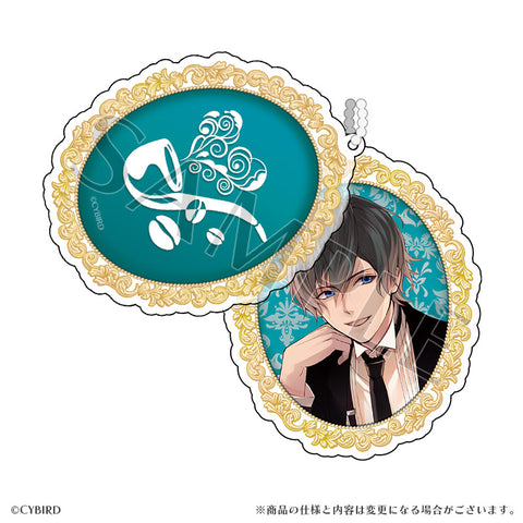 (Goods) Ikemen Vampire: Temptation in the Dark Formal Slide Acrylic Charm Arthur Conan Doyle