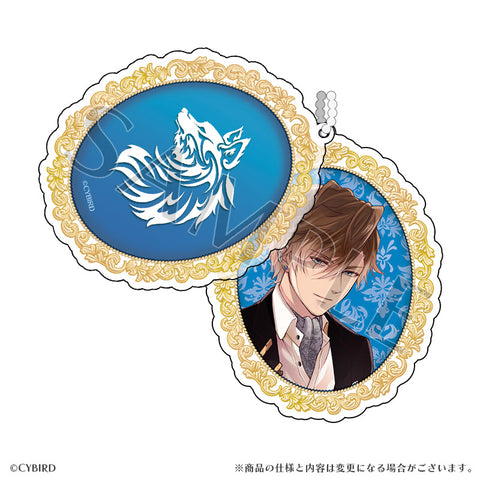 (Goods) Ikemen Vampire: Temptation in the Dark Formal Slide Acrylic Charm Theo van Gogh
