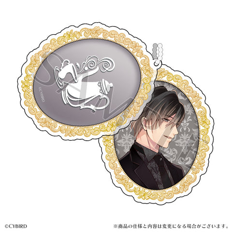 (Goods) Ikemen Vampire: Temptation in the Dark Formal Slide Acrylic Charm Sebastian