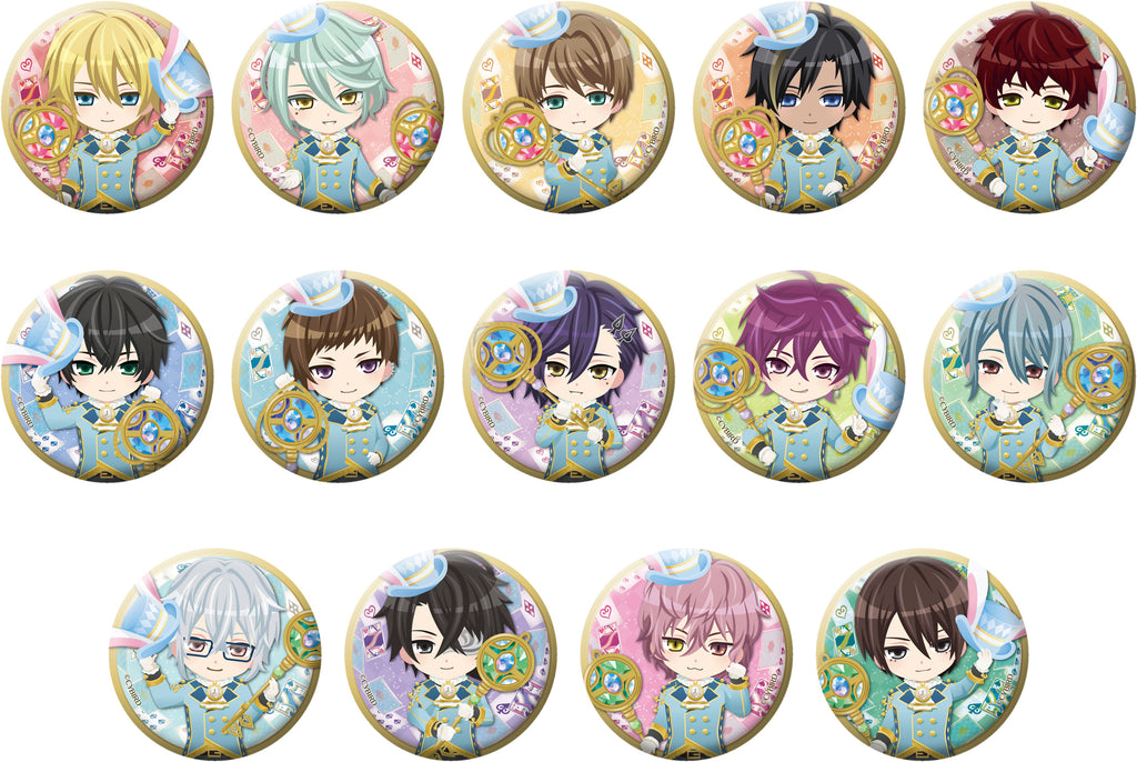 [※Blind Box] (Goods) Ikemen Revolution: Love & Magic in Wonderland Trading Button Badge - Chibi Characters Wonderland Ver.