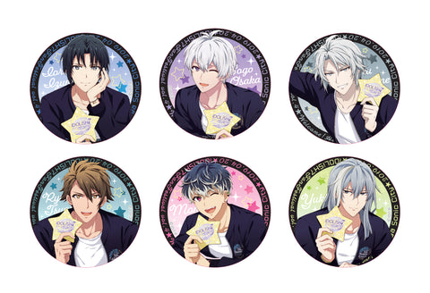 [1BOX=6 ※Blind Box](Goods) IDOLiSH7 Fan Festival vol.4 - Welcome! AI-na-night! - Button Badges