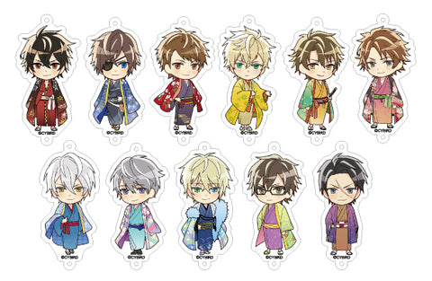 [※Blind Box](Goods) Ikemen Sengoku: Love That Leaps Through Time Acrylic Trading Charm