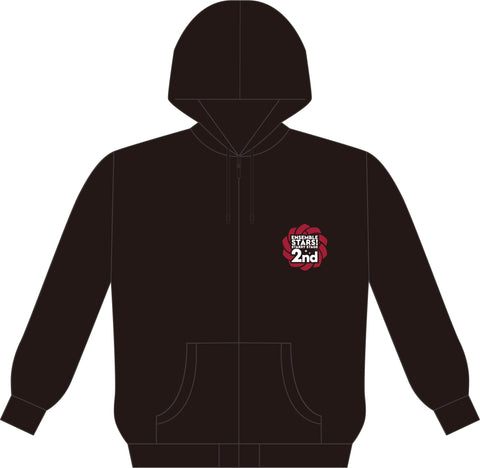 (Goods) Ensemble Stars Starry Stage 2 - Zipper Hoodie (One Size)