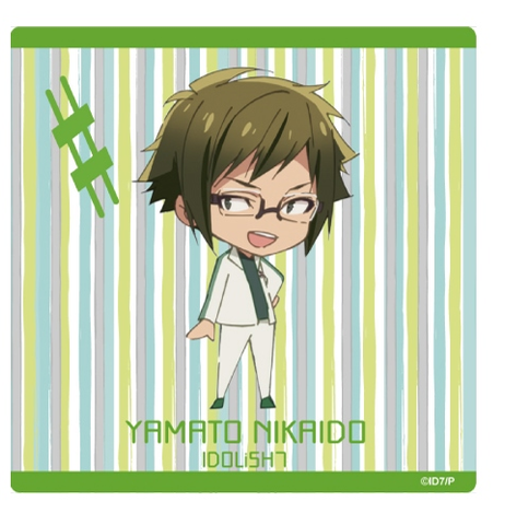 (Goods) IDOLiSH7 Mini Character Hand Towel - Iori