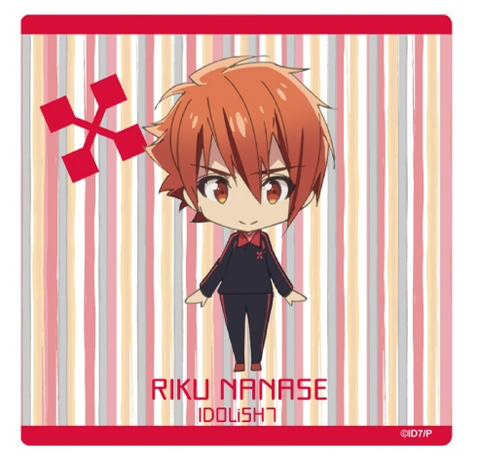 (Goods) IDOLiSH7 Mini Character Hand Towel - Riku