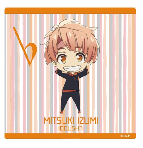 [1BOX=7 ※Blind Box] (Goods) IDOLiSH7 Mini Character Tin Badge -Jersey ver.