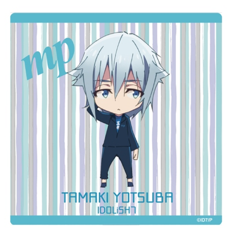 (Goods) IDOLiSH7 Mini Character Hand Towel - Tamaki