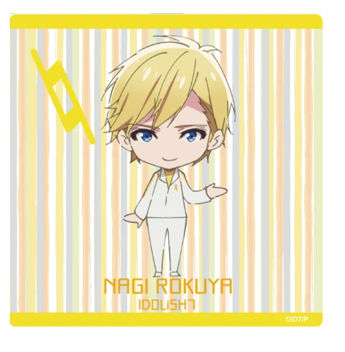 (Goods) IDOLiSH7 Mini Character Hand Towel - Nagi
