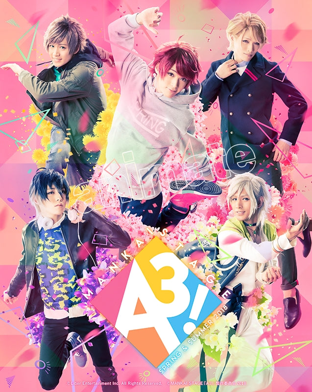 (Blu-ray) A3! Stage Play: MANKAI STAGE ~SPRING & SUMMER 2018~ [Regular Edition]