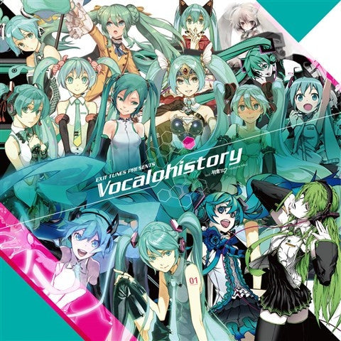 (Album) EXIT TUNES PRESENTS Vocalohistory feat. Hatsune Miku [3939 Set Limited Release]