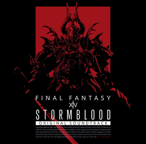 (Blu-ray) STORMBLOOD: FINAL FANTASY XIV Original Soundtrack [First Run Limited Edition]