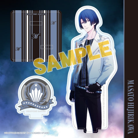 (Goods - Stand Pop) Uta no Prince-sama Acrylic Figure Plate Mystic Light Ver. - Masato Hijirikawa [animate Exclusive] (Re-release)