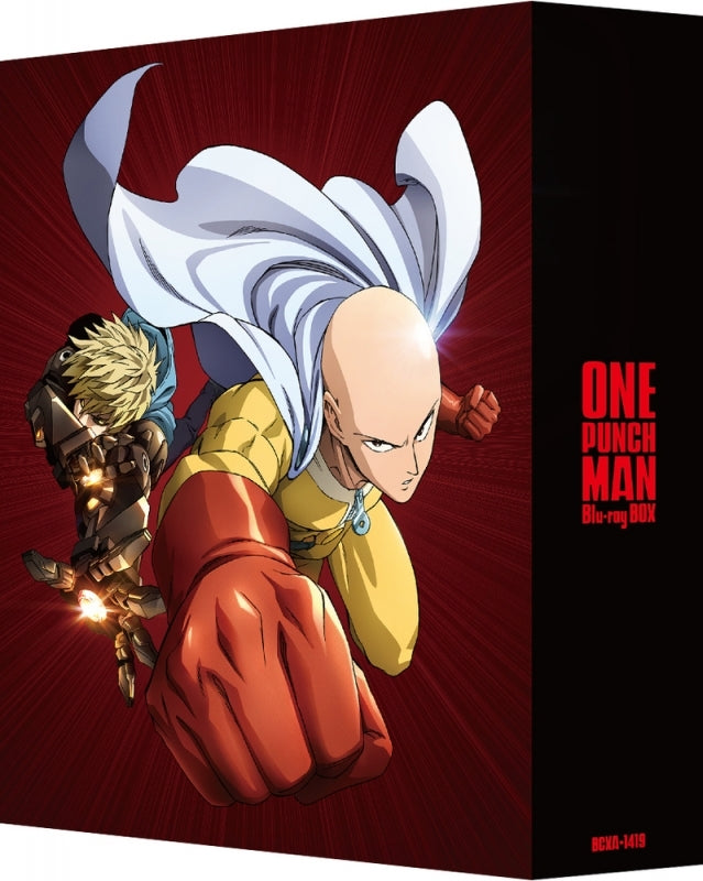 (Blu-ray) One Punch Man Blu-ray BOX [Deluxe Limited Edition]