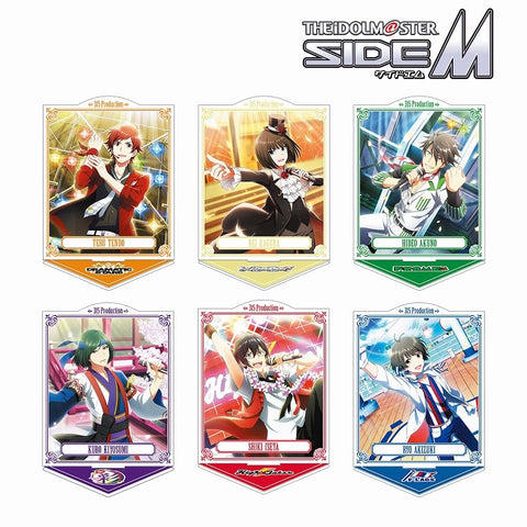 (1BOX=6)(Goods - Stand Pop) The Idolmaster SideM Trading Acrylic Stand Ver. A