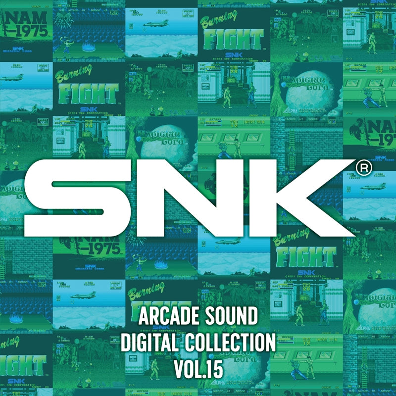 (Soundtrack) SNK ARCADE SOUND DIGITAL COLLECTION Vol. 15