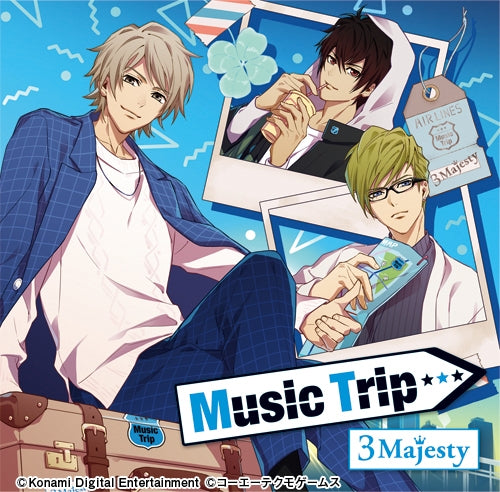 (Album) Tokimeki Restaurant☆☆☆ - Music Trip by 3 Majesty [Regular Edition]
