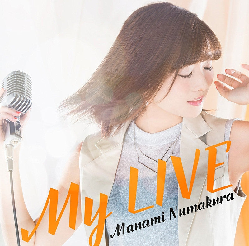 (Album) My LIVE by Manami Numakura [w/ Blu-ray, Limited Edition / Type A]