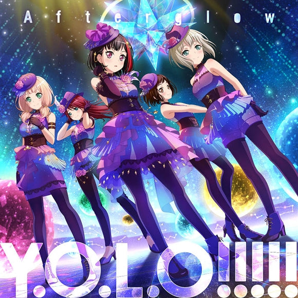 (Character Song) BanG Dream! - Y.O.L.O!!!!! By Afterglow [w/ Blu-ray, Production Run Limited Edition]