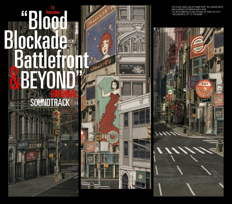 (Soundtrack) Blood Blockade Battlefront & Beyond TV Series Original Soundtrack