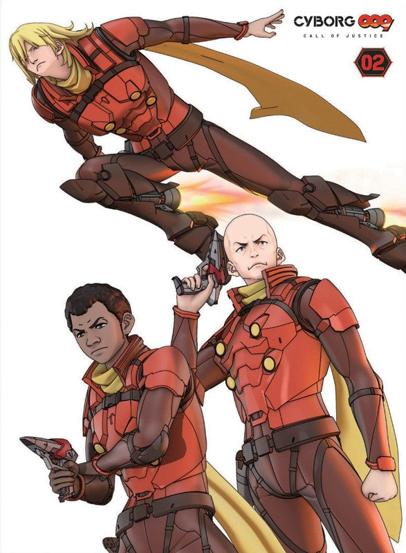 (Blu-ray) Movie CYBORG009 CALL OF JUSTICE 2